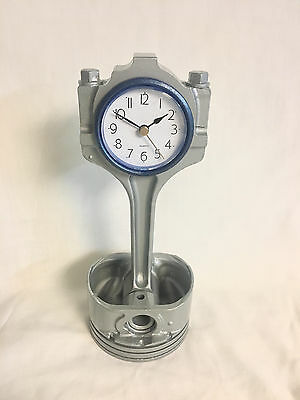 Ford Mustang Piston Clock / Connecting Rod Desk clock-Man Cave-Office-Game Room