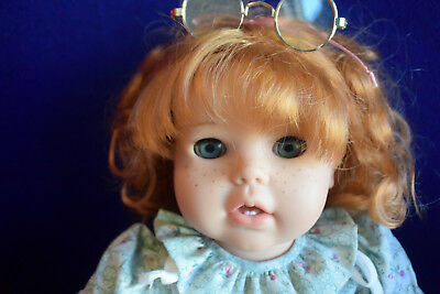 "17"" Martha Pullen Gotz Doll Red Head!"