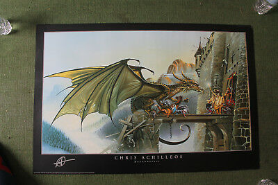 Dragon Spell Poster Print by Chris Achilleos, 36x24 1994