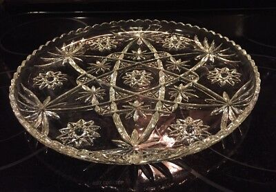 EAPC 13.5 inch Platter/Cake Plate Star of David