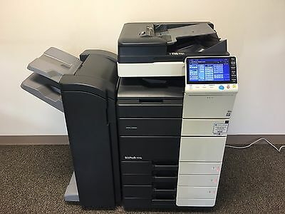 Konica Minolta Bizhub 454e Black and White Copier Printer Scanner Low 116k total