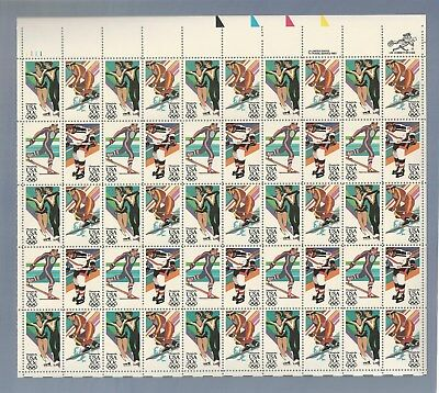 SCOTT #2070a...1984 WINTER OLYMPICS ISSUE...SHEET OF 50 (20c) STAMPS...MNH