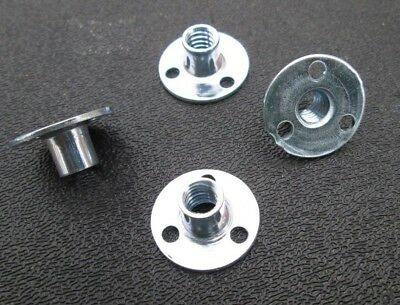 1/4-20  Round Base Teenut Fastener Steel 1/4-20  (25)