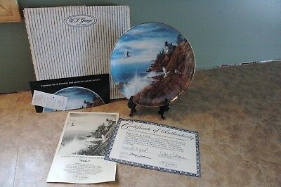 W.S. George - ACADIA - Harry Johnson - 1988 - 2778A - Collector Plate