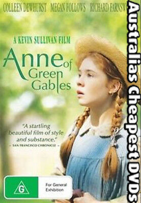 Anne Of Green Gables DVD NEW, FREE POSTAGE WITHIN AUSTRALIA REGION 4