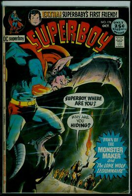 Dc Comics SUPERBOY #178 VG+ 4.5