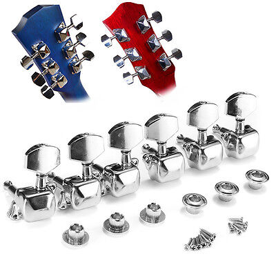 Acoustic Guitar String Button Semiclosed Tuning Pegs Tuner Machine HeadsKnob