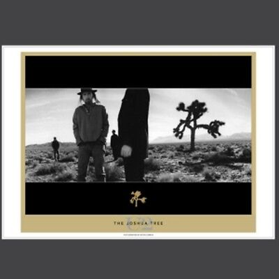 U2 Lithograph Joshua Tree Inner album edition