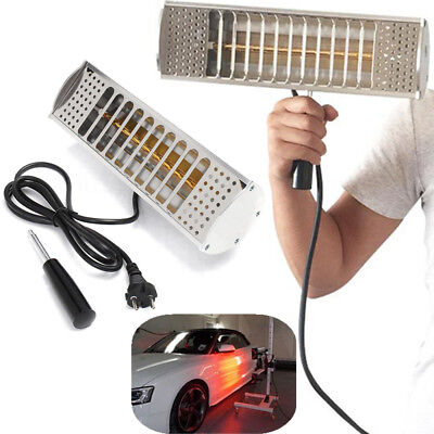 1000W Handheld Spray/Baking Infrared Paint Booth Curing Heating Lamp Car Shop
