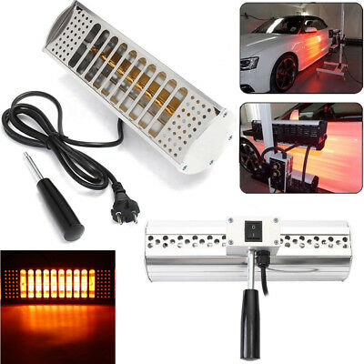 Portable 220V Paint Drying Lamp Motorcycle Bike Infrared Heating Light 1000W NEW