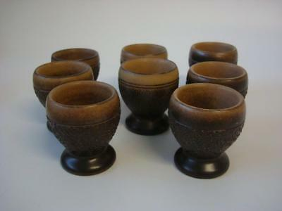 Denby Cotswold 8 X Egg Cups