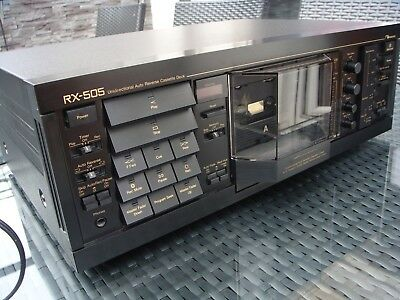 VTG unidirectional Tapedeck NAKAMICHI RX505 switchable Multi Voltage OVP