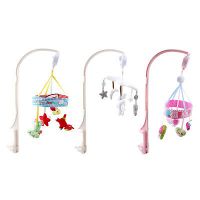 Infant Baby Toddler Mobile Crib Bed String Cord Musical Mobile Cot Carousel Gift
