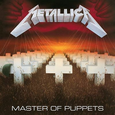 Metallica Master Of Puppets Cd (Remastered 2017)