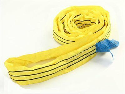 8 Metre x 3 Ton Endless Round Tested Lifting Sling (4m EWL) Handy Straps