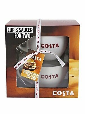 On And Saucer Duo Official Shop SetFrom Argos Ebay Costa Cup The X8NnOPk0w