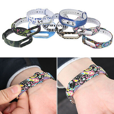 Unisex Replacement Sport Silicone Wrist Band Bracelet Strap Fits For Xiaomi Mi 2