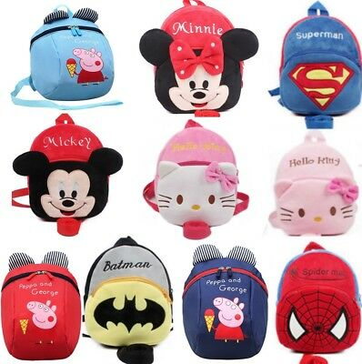 Christmas Gift Baby Kid Toddler Walking Safety Harness Strap Backpack Reins Bag