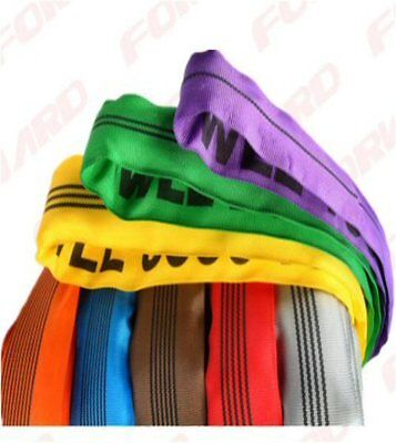 Endless Webbing Round Lifting Sling 1t , 2t , 3t , 4t , 5t , 6 ton