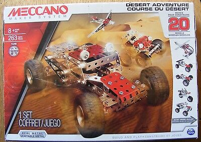 meccano maker system aerial rescue instructions