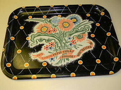 """Vintage Pepsi Cola """"Bigger And Better"""" Metal Tray"""