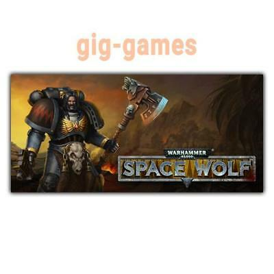 Warhammer 40,000: Space Wolf PC spiel Steam Download Link DE/EU/USA Key Code