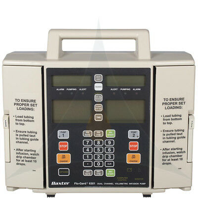 Baxter Flo-Gard 6301 IV Pump-Buy Now and Get it Next Day-Patient Ready
