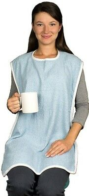 Long Length Adult Bib X Large 18 x 35 Clothing Protector Super Absorbent