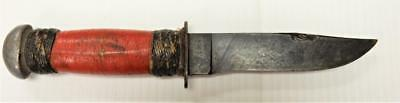 Theater Knife, Trench Art, WWII USN MK1, Robeson SurEdge No. 20,  RED  #TK26