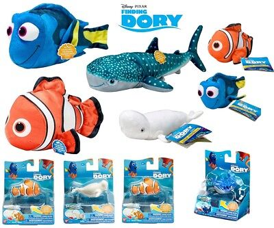 "NEW Official FINDING DORY Nemo TALKING Plush Figure Bailey Hank Destiny 6""-12"""