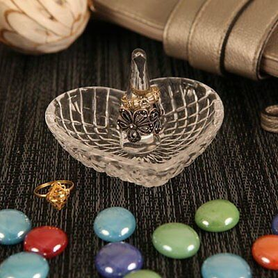 Jewelry Tray Ring Holder Pole Dish Vanity Trinket Organizer Heart Shape New