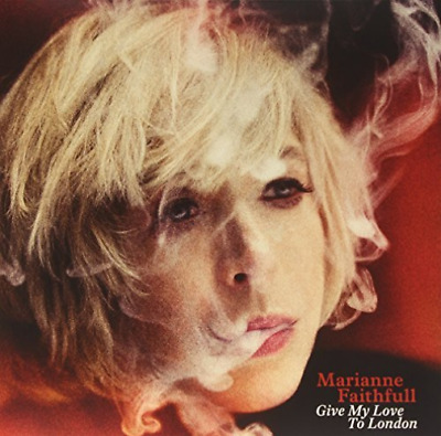 "Marianne Faithfull-Give My Love to London  (US IMPORT)  Vinyl / 12"" Album NEW"