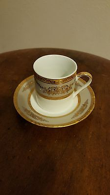 Set of 6 Demitasse Cups & Saucers (Japan Style)