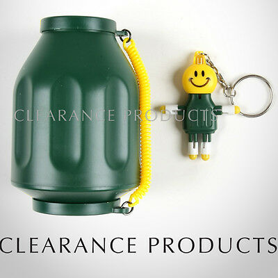 Smoke Buddy Personal Air Purifier Cleaner Filter - Green + Key Chain