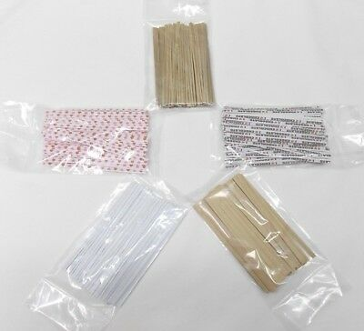 "4"" Twist Ties for Candles Favors Valentines Plastic Cello Bags Assorted Colors"