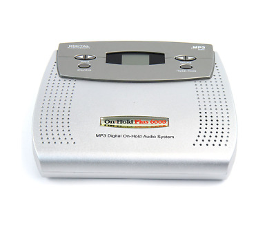 On-Hold Plus OHP 6000 Digital On-Hold Audio Player for PBX