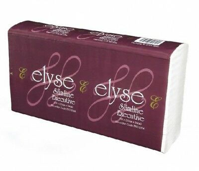 Elyse Executive Exc-2324 Ultraslim Hand Towels 23Cm X 24Cm Carton (16 Packs)