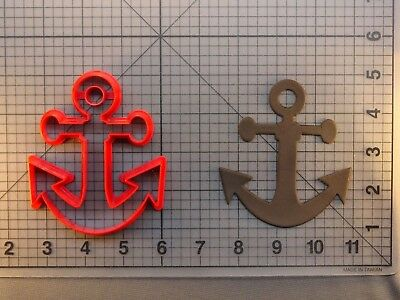 Anchor Fondant and Cookie Cutter