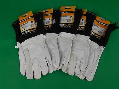 2 Pair BossSafe MEDIUM Goat Skin Tig Welders Gloves Tig Welding Gloves Tig  2Pr