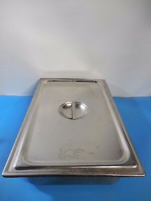 """Steam Table Pan 22"""" x 14"""" x 4-1/2"""" with Sugico SH-1900 Lid"""