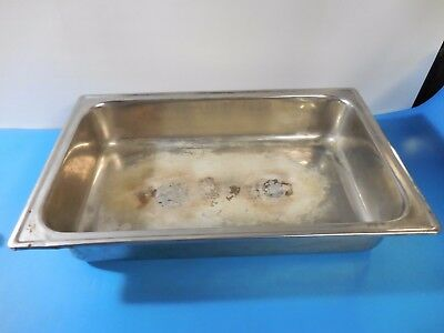 """Stainless Steel 22"""" L x 14"""" W x 4-1/2"""" H Steam Table Pan"""