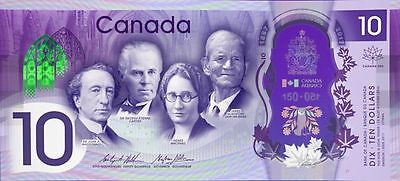 Banknote - CANADA 2017 New $10 Polymer 150th Anniversary Commemorative (Gem UNC)
