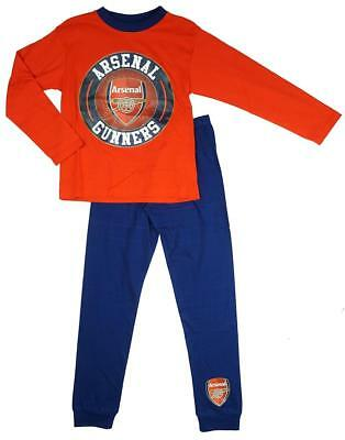 Arsenal Football Pyjamas Childrens nightwear Boys Girls Warm Pjs Gunners Fc Tea