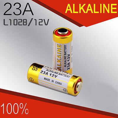 2PCS 12V L1028A23S Alkaline Single Use Battery For Burglar Alarmer Controler UK
