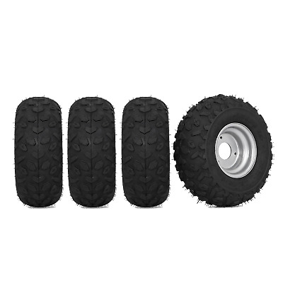 4X 145/70-6 Tire Tyre and Rim Electric ATV Go Kart Buggy Scooter Moweer sa2