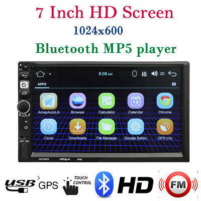 "8"" 2 Din Car DVD Player GPS Navi For Volkswagen VW Golf Passat Sharan Jetta #L"