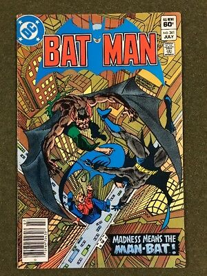 Batman #361  Bronze Age Dc - Key Issue - 1St Appearance Of Harvey Bullock