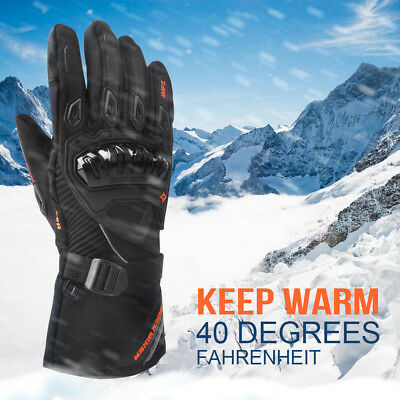 Motorcycle Winter Gloves Touch Screen Snow Warm Waterproof Windproof Protective