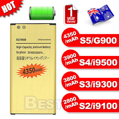 Li-ion Replacement Battery For Samsung Galaxy S2 S3 S4 S5 I9100 I9300 I9500 G900