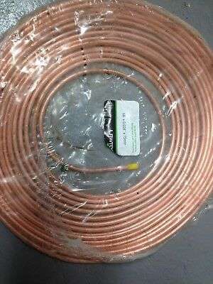 Air Conditioning Copper Tube Refrigeration Grade Pipe 3/8 15m